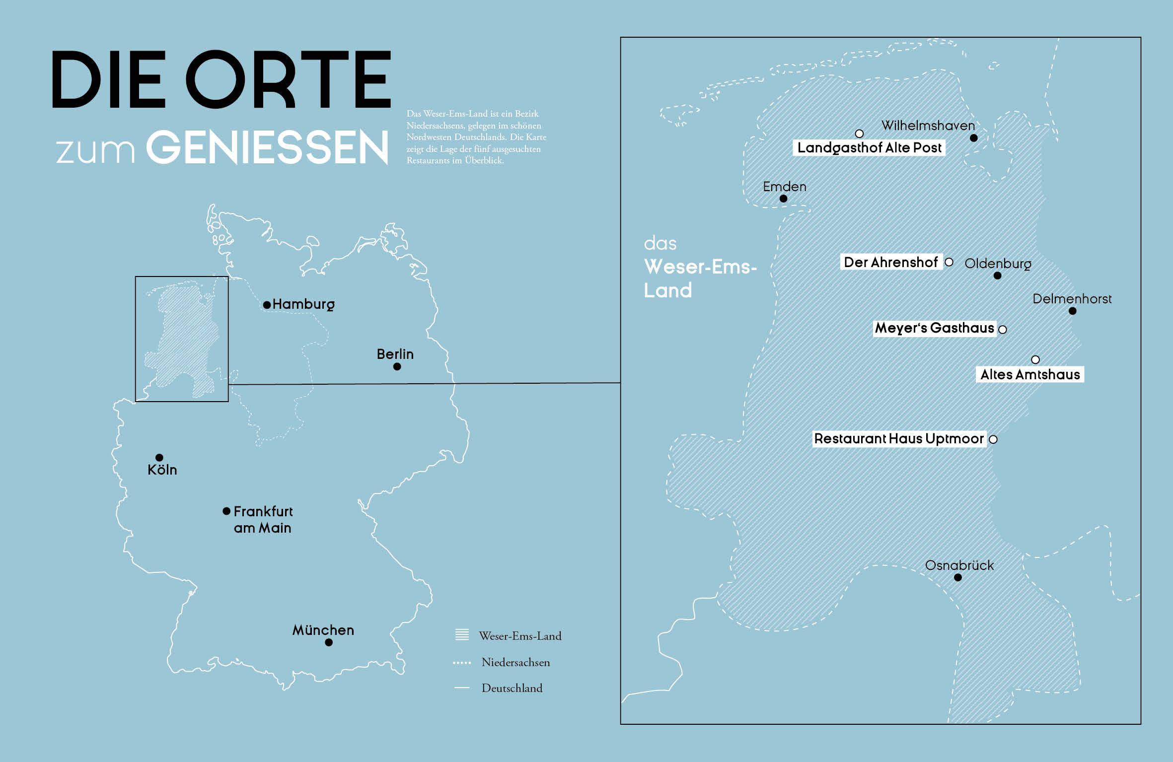 Regional Kochen im Weser-Ems-Land